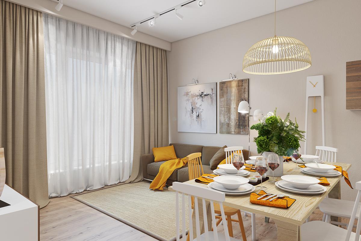 Deco Gris Et Or easy-yellow-decor-accents   golden art