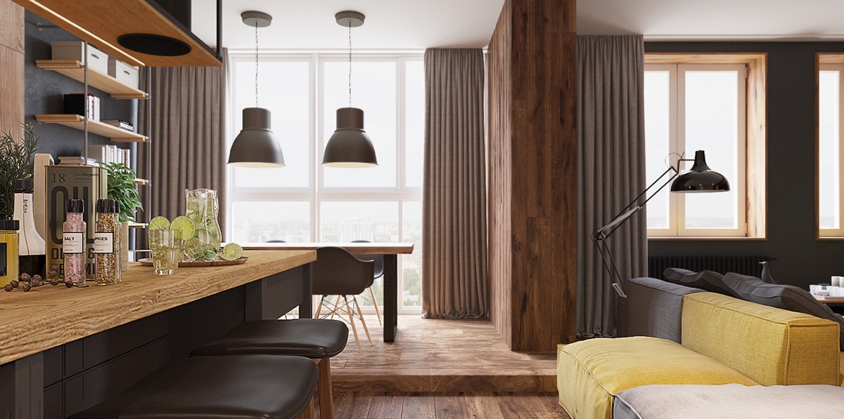kitchen-bar-dining-space-wood-flooring-